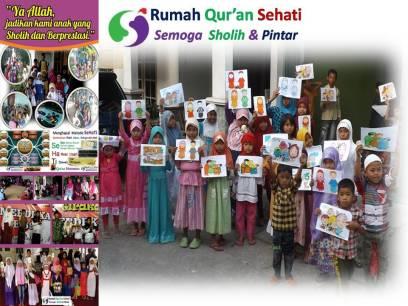 Infaq Pengembangan Rumah Tahfidz Qur'an Sehati (1)