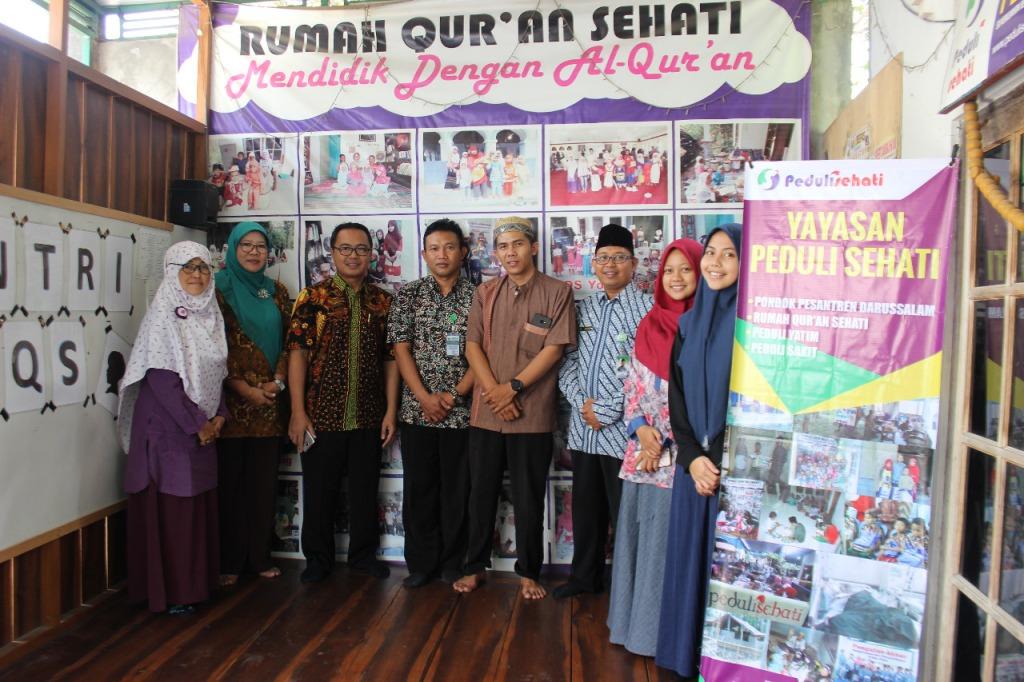 Peduli Sehati mendapatkan Kunjungan Visitasi dari Kementrian Agama